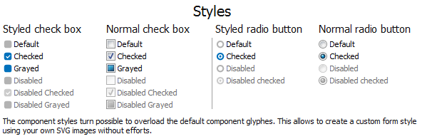 TCheckBox and TRadioButton using SVG